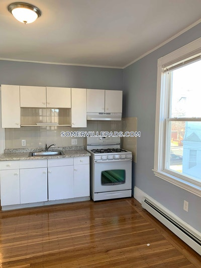Somerville Apartment for rent 2 Bedrooms 1 Bath  Winter Hill - $2,400